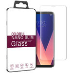 3D Curved Fit Tempered Glass Screen Protector for LG V30+ (Clear)